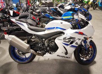 White Suzuki GSX-R1000R