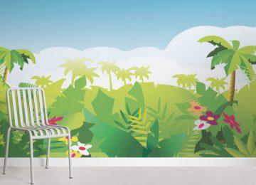 Art Jungle Wallpaper