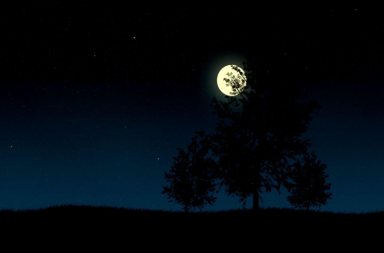 Beautiful HD Black Moon