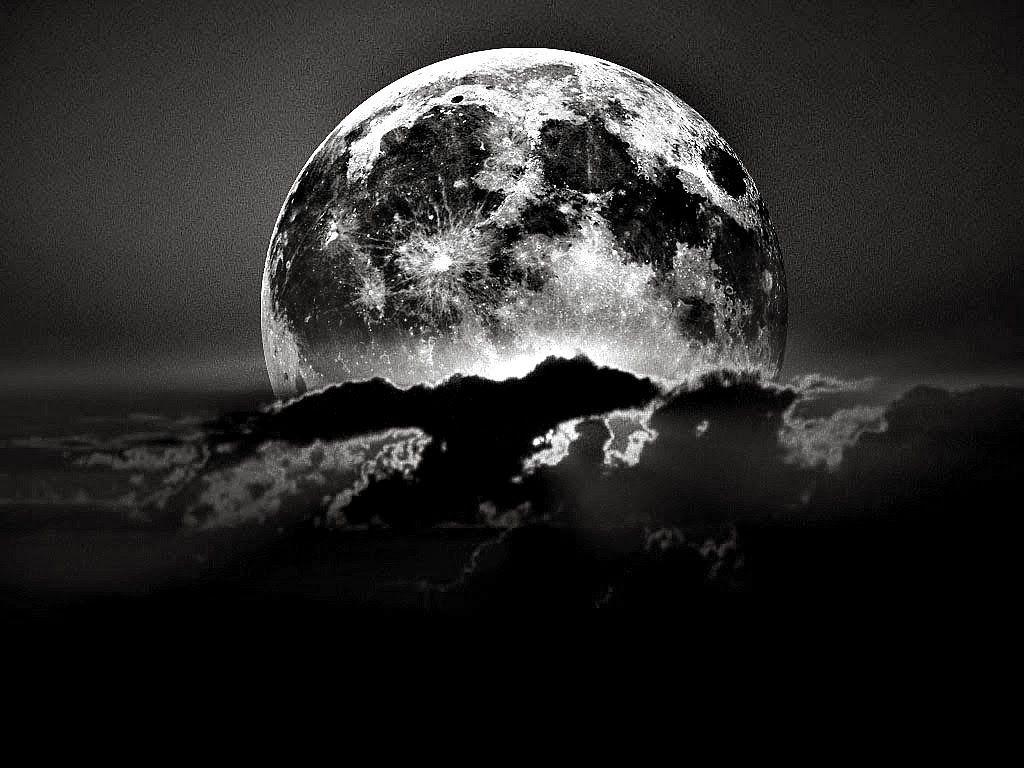 Cool HD Black Moon