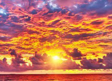 Wonderful Sunset Wallpaper