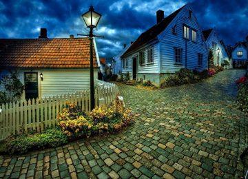 Wonderful Village Wallpaper