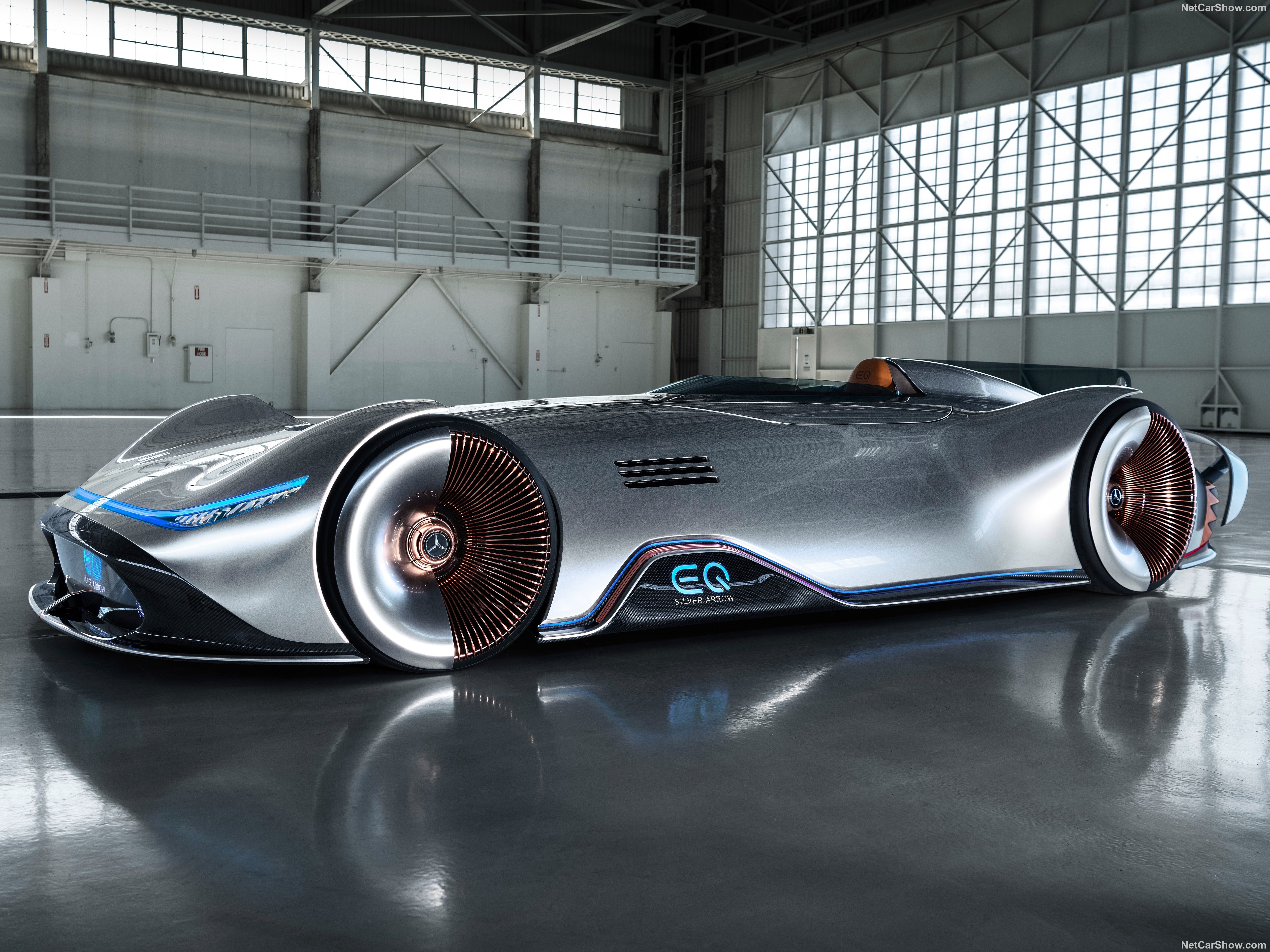 Cool Mercedes-Benz Vision EQS