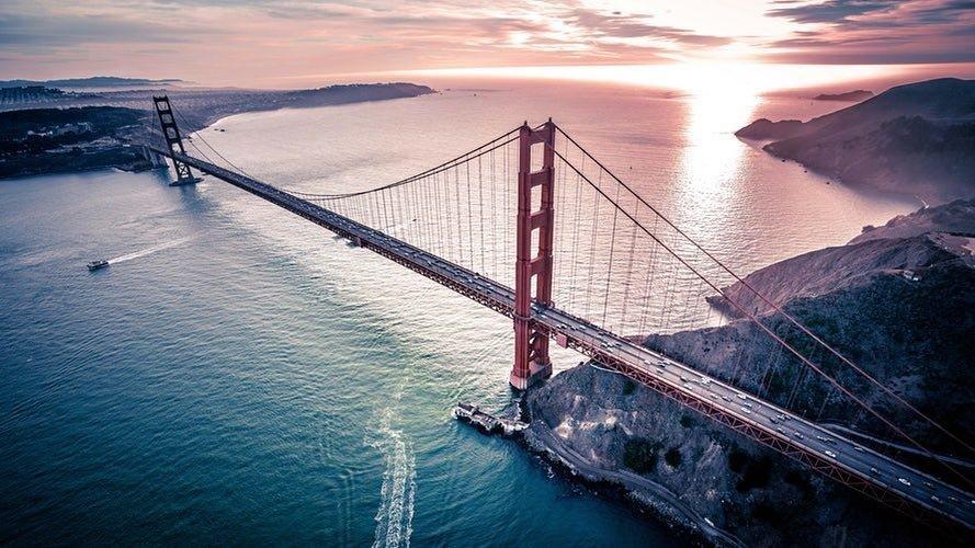 Natural Golden Gate Bridge
