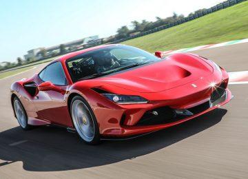 Nice Ferrari F8 Tributo