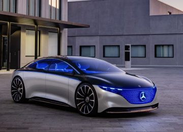 Nice Mercedes-Benz Vision EQS