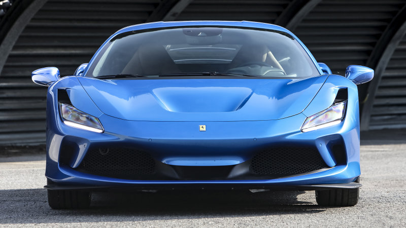 Super Ferrari F8 Tributo