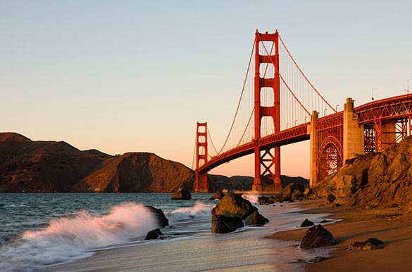 Top Golden Gate Bridge