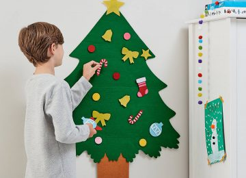 Art Christmas Tree