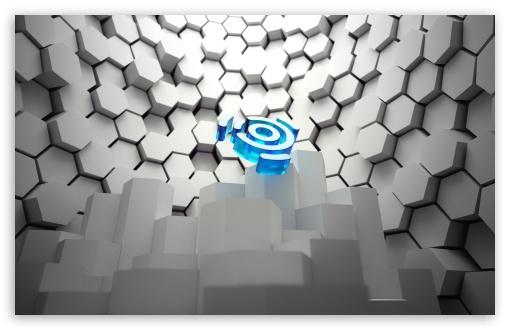 Art Ubuntu 3D Wallpaper