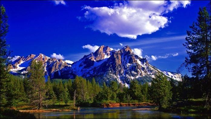 Mountain HD Nature Wallpaper