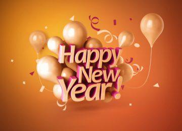 Brown New Year Wish