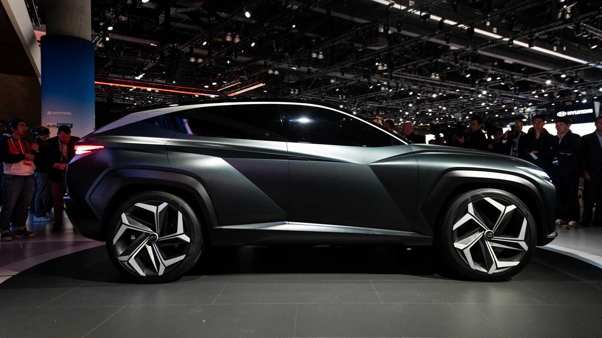 Beautiful Hyundai Vision T Concept