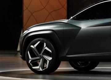 Black Hyundai Vision T Concept
