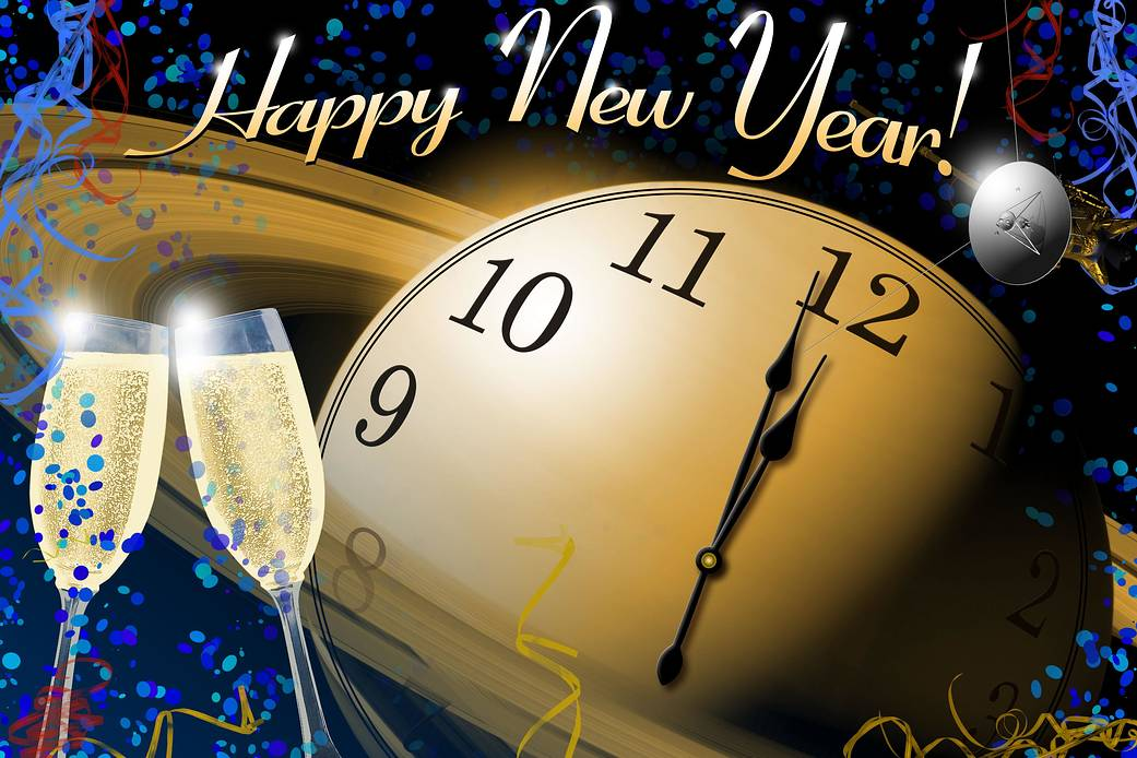 Clock New Year Image