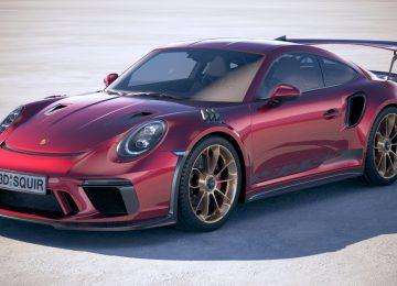 Red Porsche 911 GT3 RS