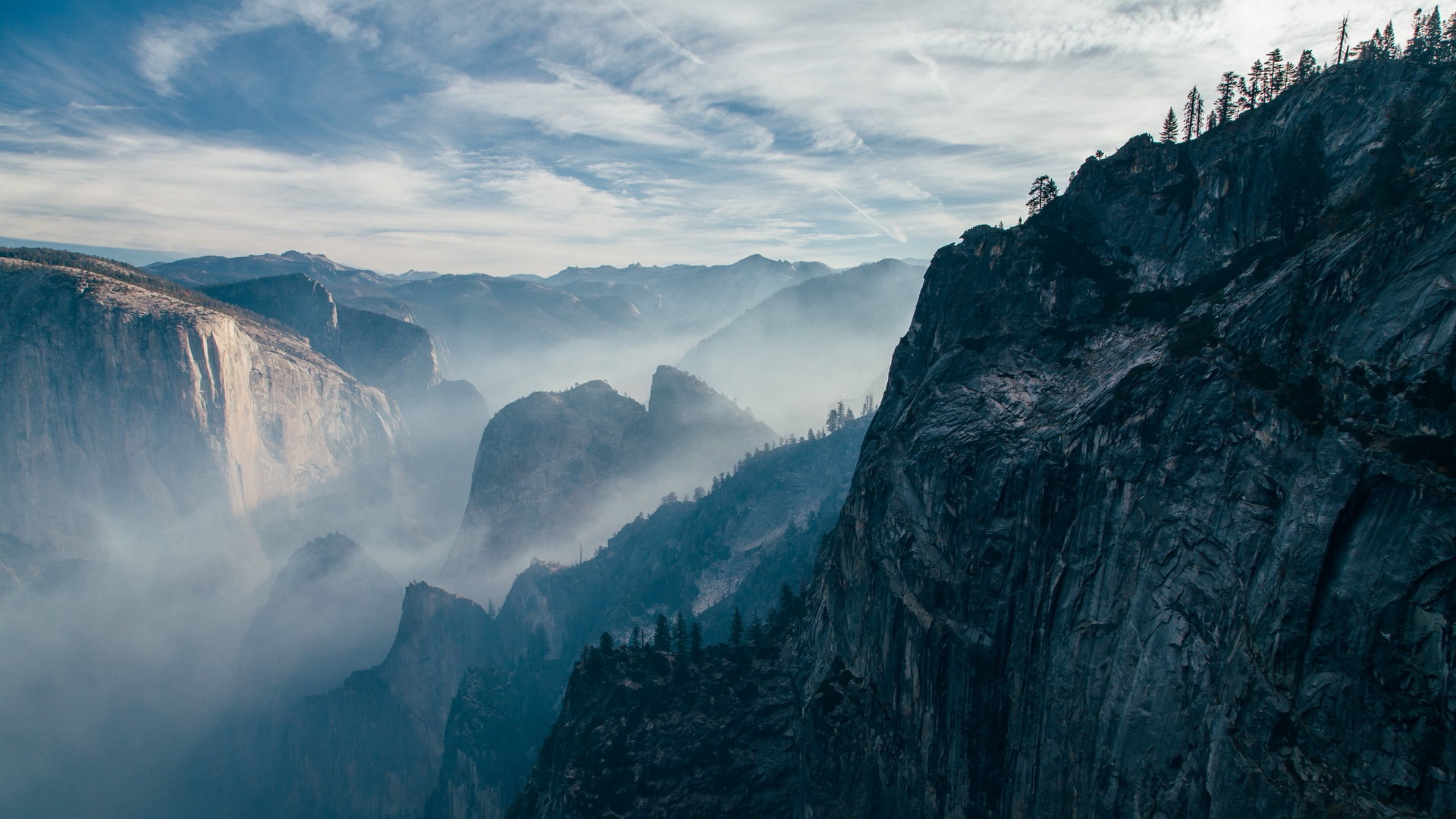 Top Cliff Wallpaper
