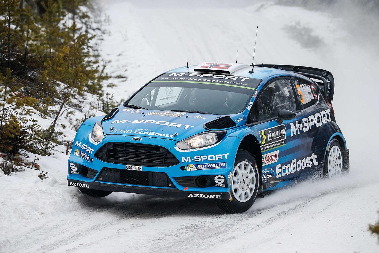 Beautiful Ford Fiesta WRC