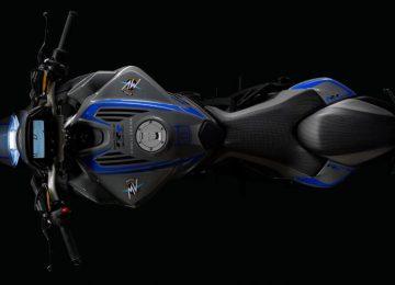 Black MV Agusta Brutale