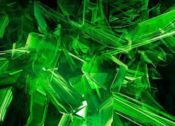 Digital Green Wallpaper