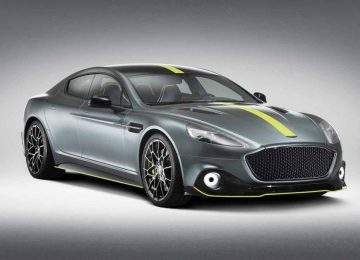Grey Aston Martin Rapide AMR