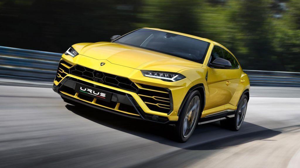 Yellow Audi RS Q8