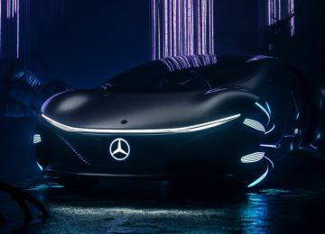 Amazing Mercedes-Benz VISION AVTR