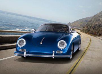 Blue Porsche 357