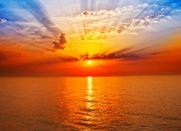 Clouds Sunrise Image