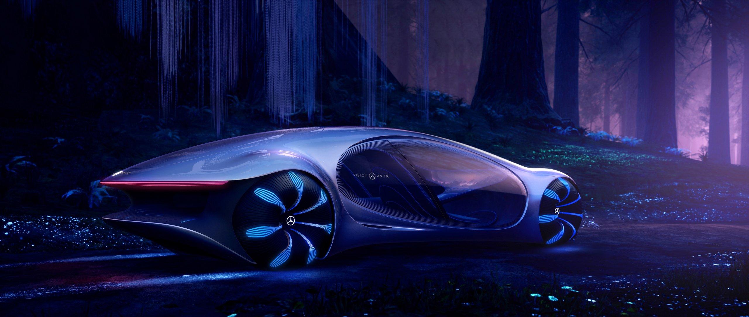 HD Mercedes-Benz VISION AVTR