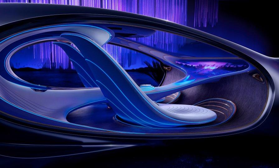 Inside Mercedes-Benz VISION AVTR