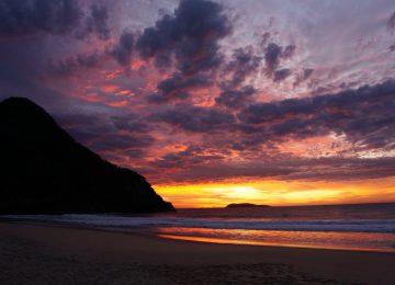 Landscape Sunrise Image