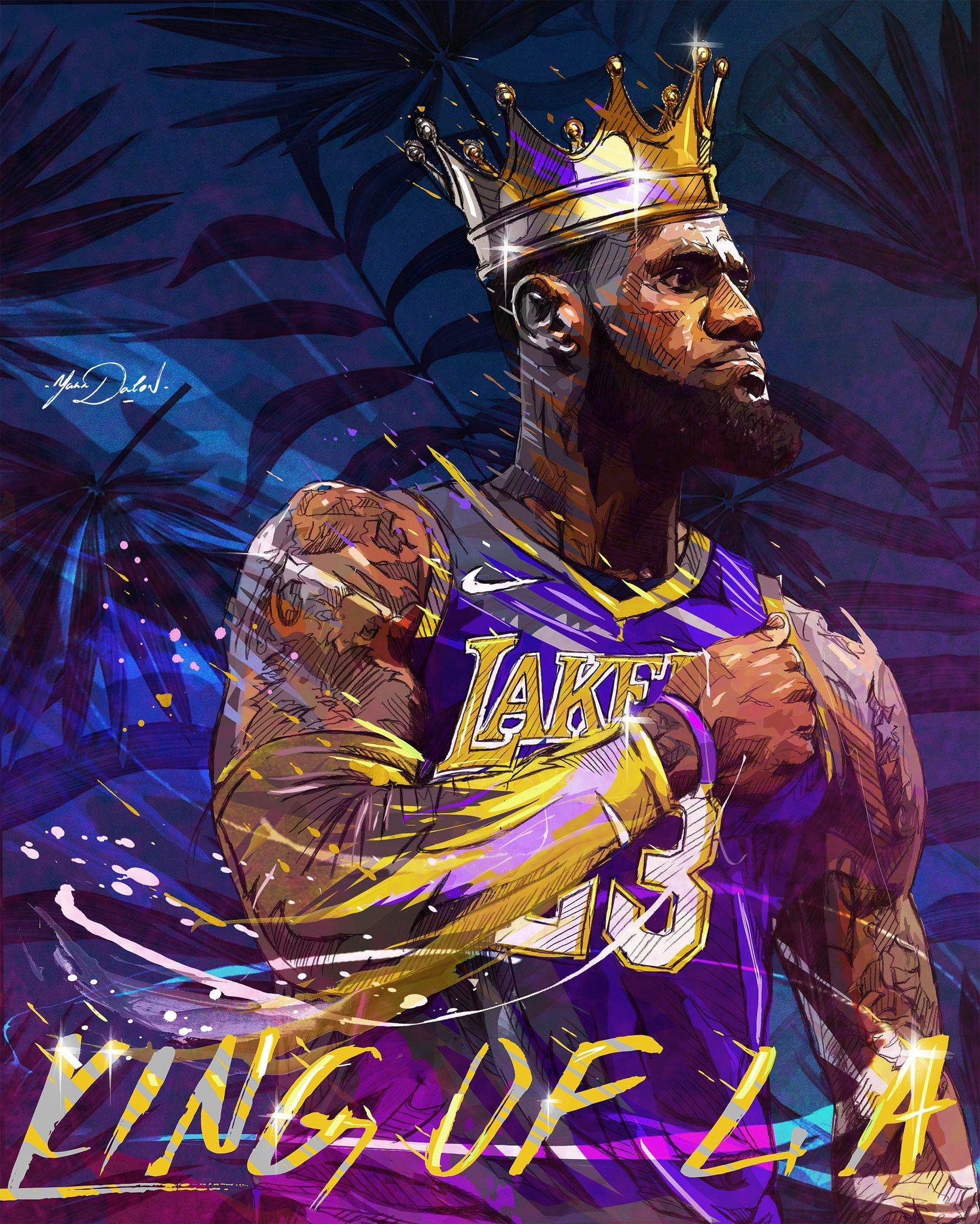 Super LeBron James Wallpaper