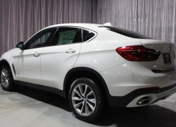 White BMW X6