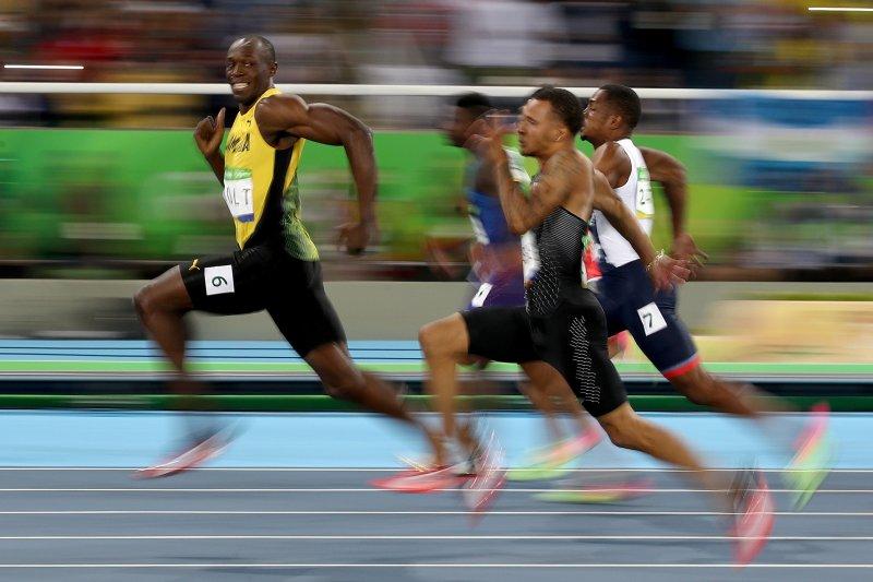 Widescreen Usain Bolt