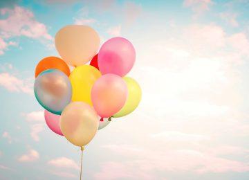 Free Balloons Wallpaper